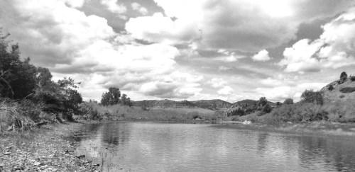 flat water side